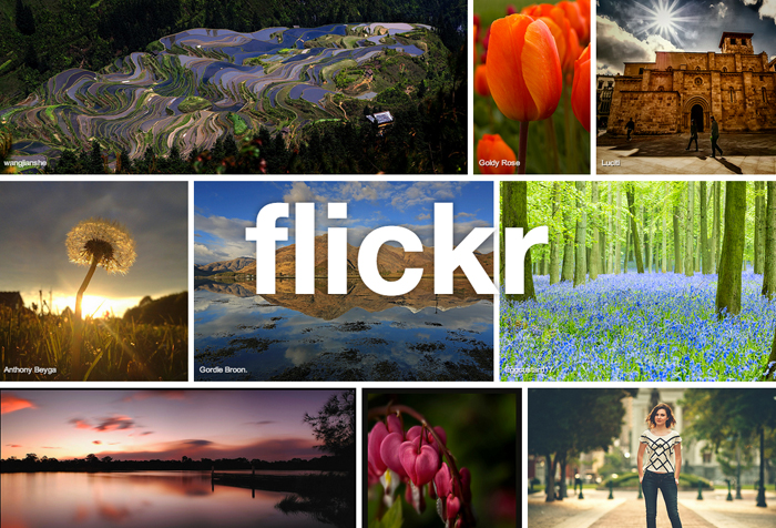 New Flickr Site Navigation and 'Explore' Page